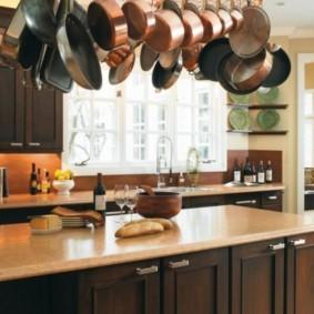 ламинат на кухне идеи дизайн