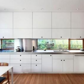 ламинат на кухне идеи обзор
