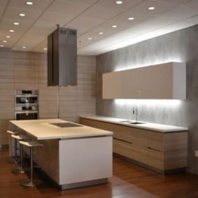 ламинат на кухне идеи обзоры