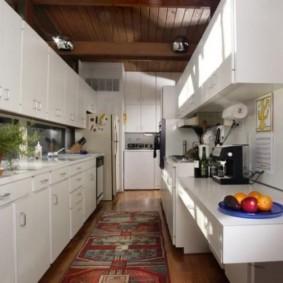 ламинат на кухне оформление идеи