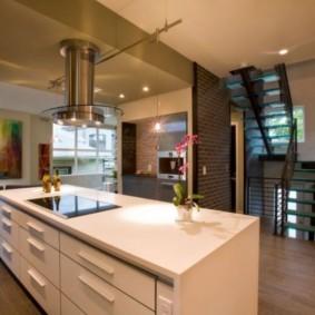 ламинат на кухне виды фото