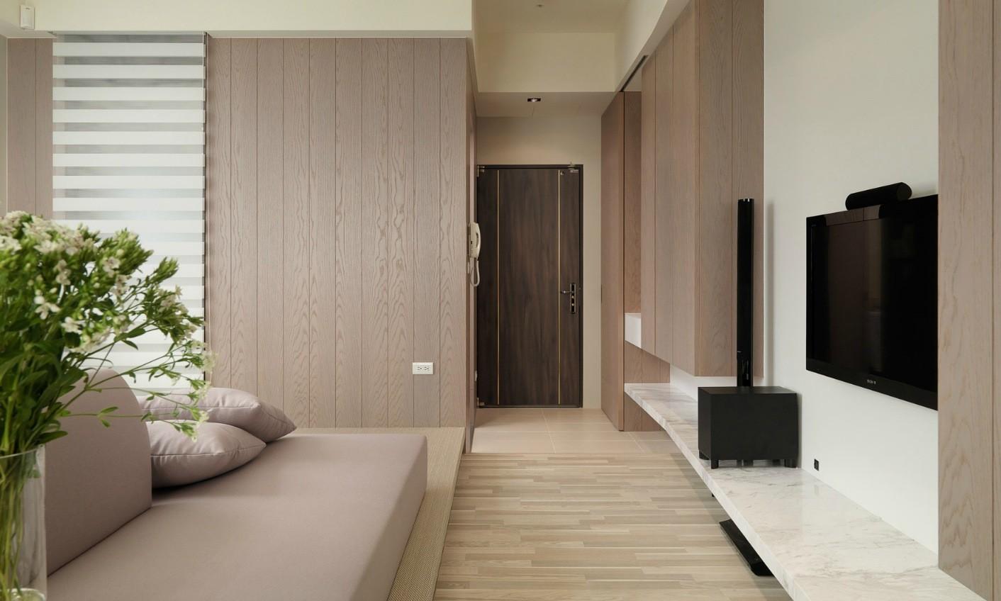 ламинат на стену в прихожей идеи декор