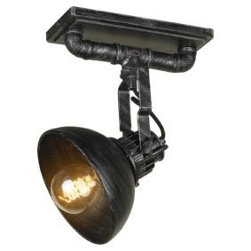 Поворотный светильник для туалета в стиле лофт