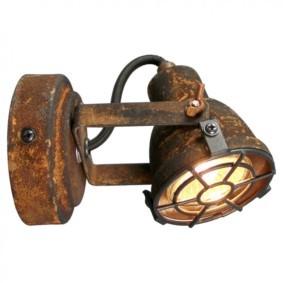 Ржавый светильник для ванной в стиле лофт