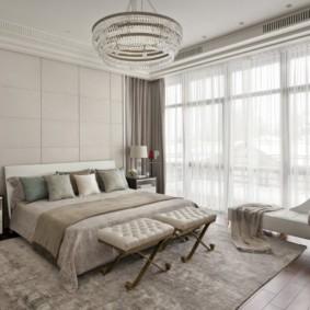 спальня в стиле неоклассика мебель