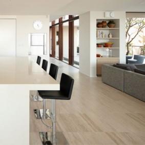барные стулья для кухни интерьер