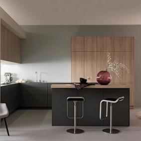 барные стулья для кухни фото интерьер