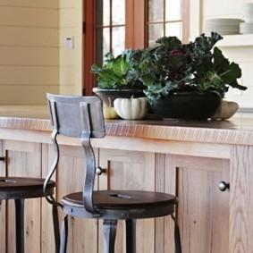 барные стулья для кухни интерьер идеи