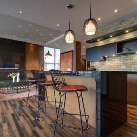 барные стулья для кухни идеи интерьер