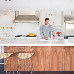 барные стулья для кухни идеи интерьера