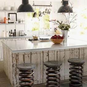 барные стулья для кухни фото оформление