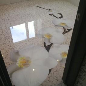 Наливной пол с полимерным покрытием