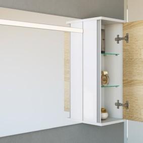 навесной шкаф в ванную фото идеи
