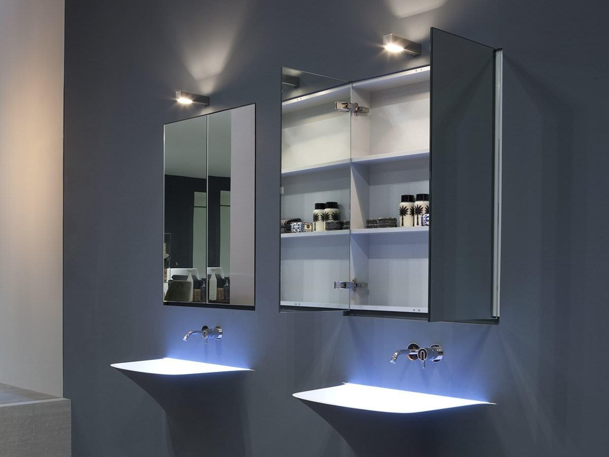 навесной шкаф в ванную фото интерьер