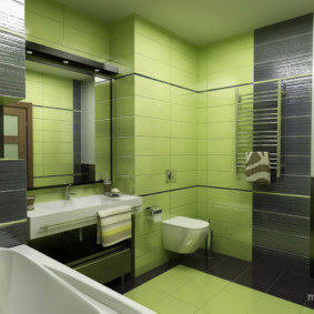 навесной шкаф в ванную дизайн фото