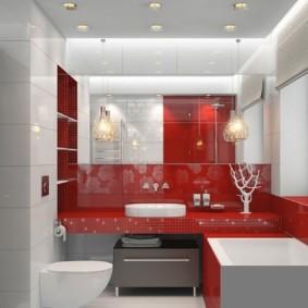 навесной шкаф в ванную фото декор