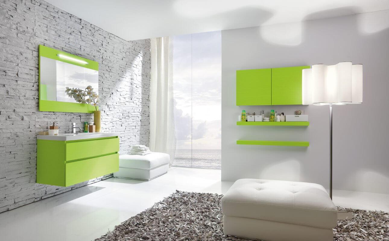 навесной шкаф в ванную фото оформление