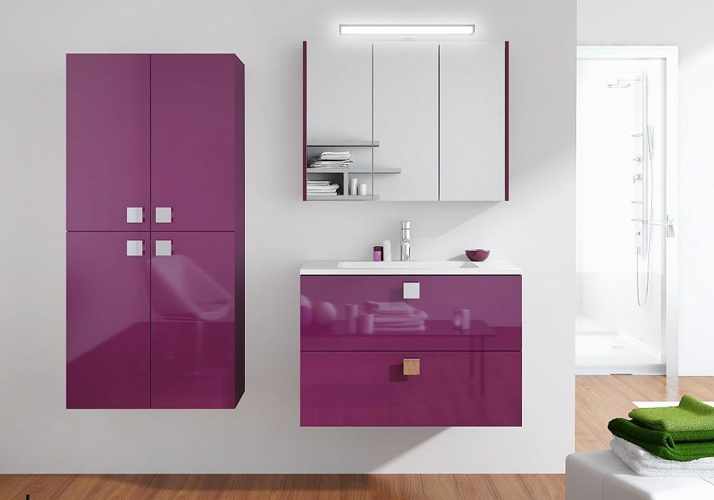 навесной шкаф в ванную фото оформления