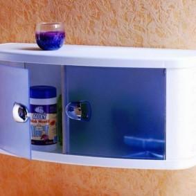 навесной шкаф в ванную фото видов