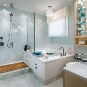 навесной шкаф в ванную фото виды