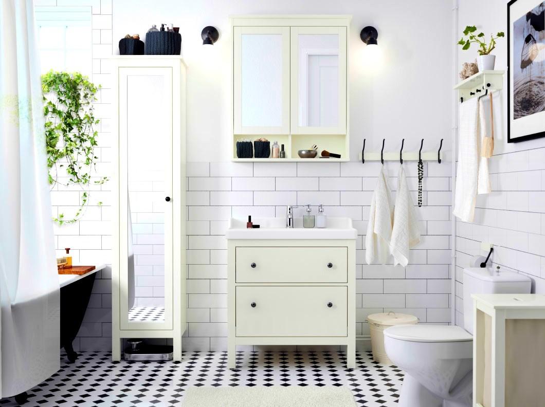 навесной шкаф в ванную идеи декора