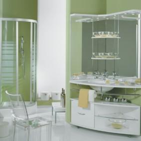 навесной шкаф в ванную идеи вариантов
