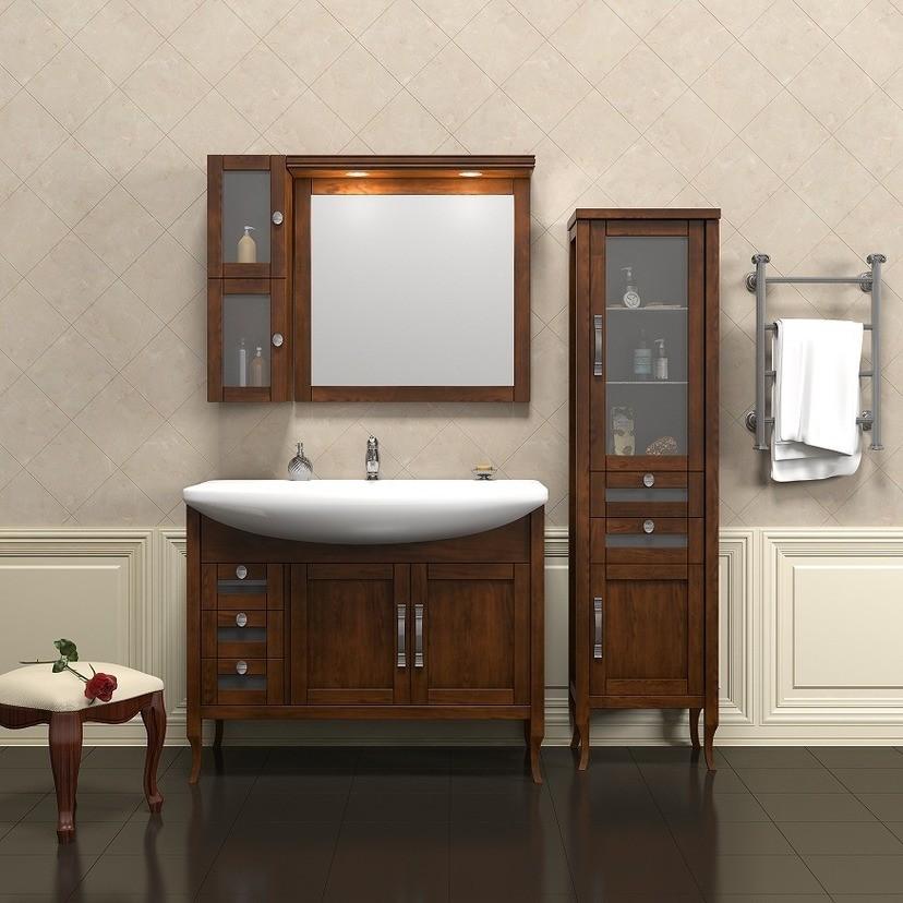 навесной шкаф в ванную интерьер идеи