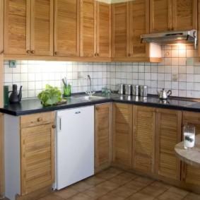 холодильник на кухне идеи дизайна