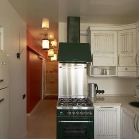 холодильник на кухне фото интерьера