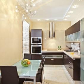 холодильник на кухне идеи интерьера