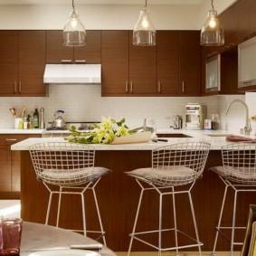 барные стулья для кухни фото оформления