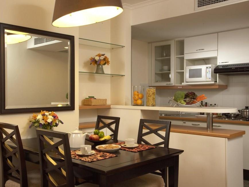 обеденная зона на кухне дизайн идеи