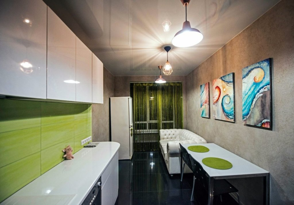 обеденная зона на кухне фото виды