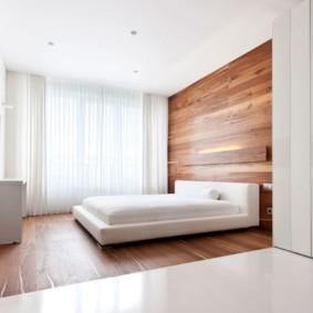 спальня в стиле минимализм оформление