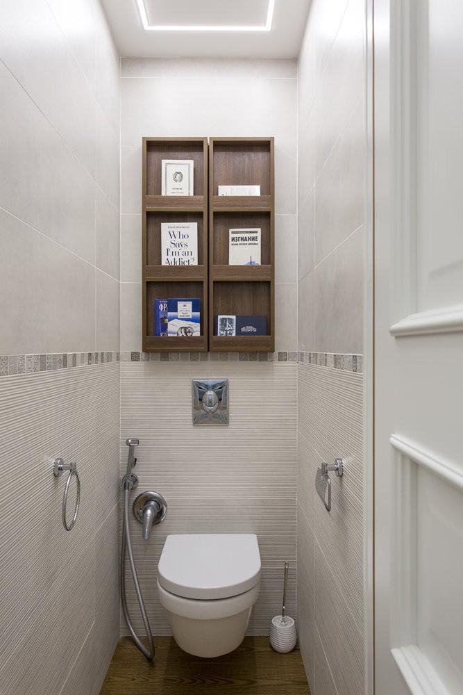 Правильное освещению туалета в хрущевке
