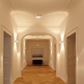 освещение в прихожей идеи дизайн