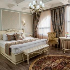спальня в стиле неоклассика дизайн