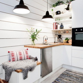 Декор кухни в скандинавском стиле
