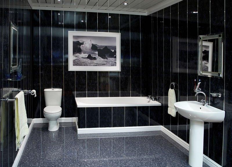 Интерьер ванной комнаты в стиле модерн