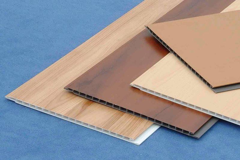 ПВХ-панели для отделки кухонного фартука
