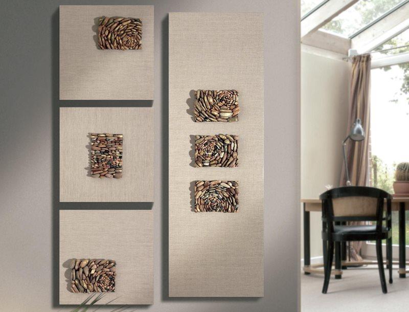 Декор стены в стиле минимализма