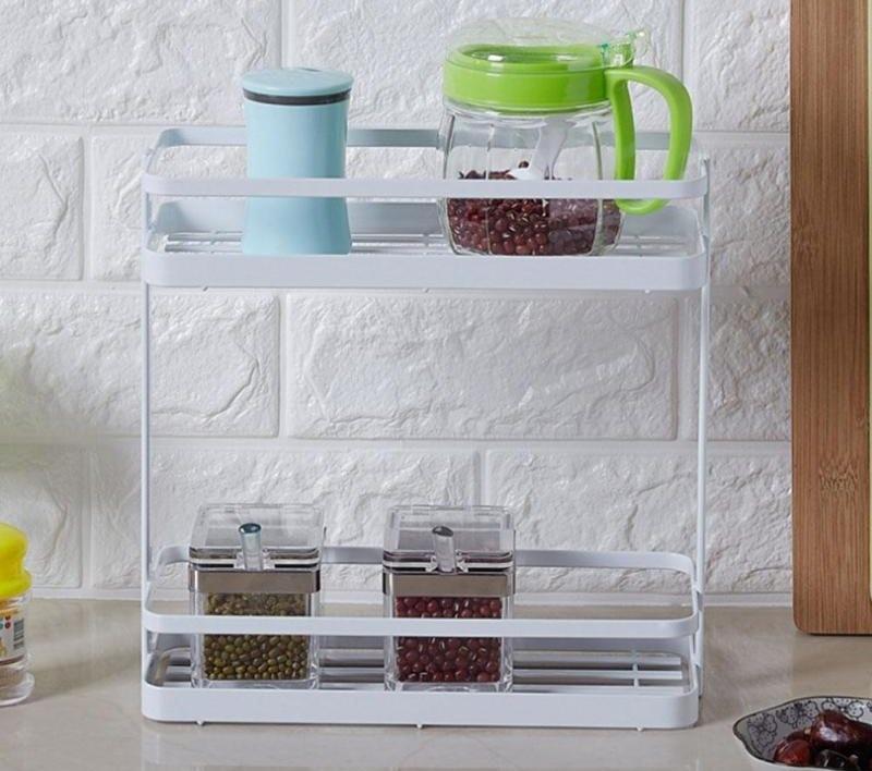 Настольная кухонная полочка из пластика