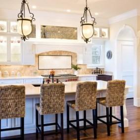барные стулья для кухни варианты идеи