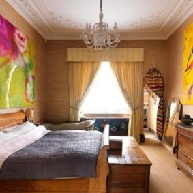 шторы для спальни 2019