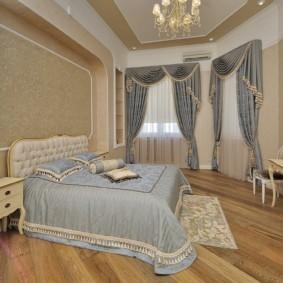 шторы для спальни 2019 дизайн