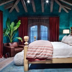 шторы для спальни 2019 декор