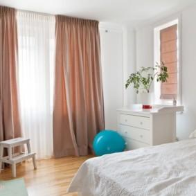 шторы для спальни 2019 декор идеи