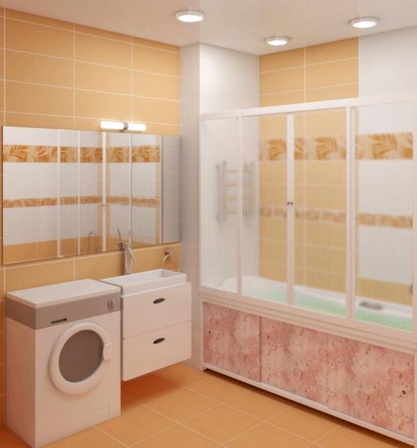 раздвижные шторки для ванн