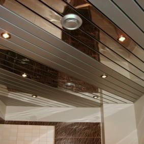 Реечный потолок немецкого дизайна