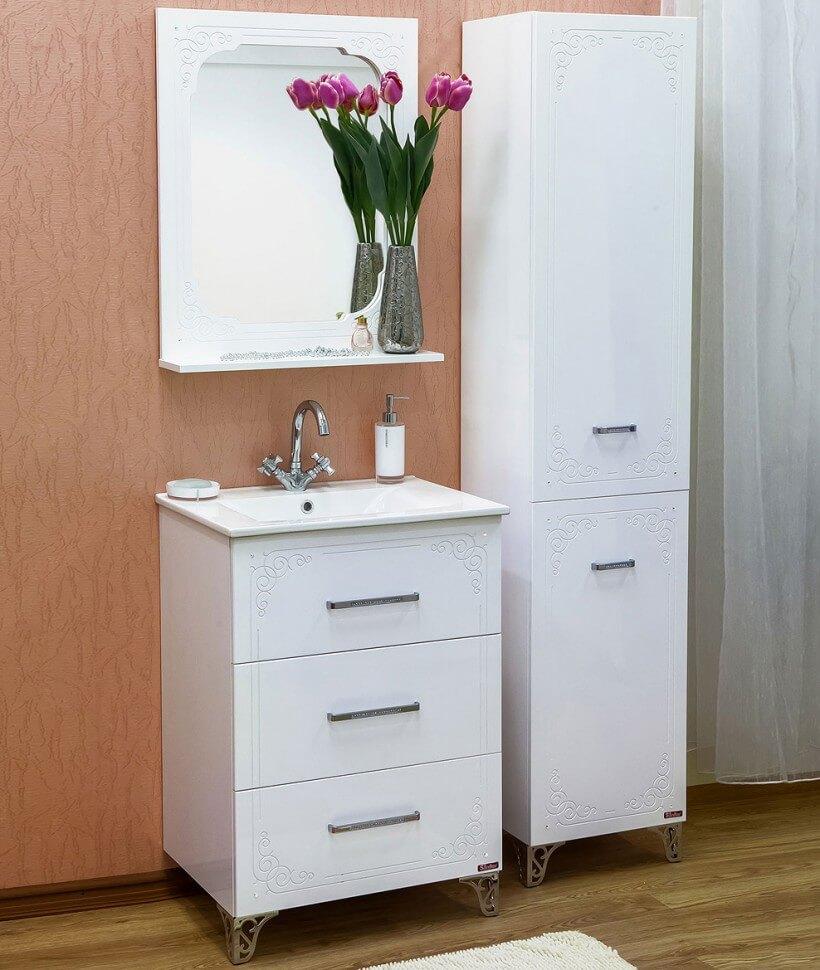 шкаф пенал с бельевой корзиной для ванной фото варианты